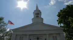 Church timelapse Stock Footage