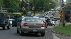 Traffic timelapse Stock Footage