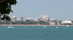 City Skyline - Darwin Australia Stock Footage