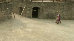 Roman gaul arena 10 Stock Footage