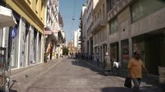 Athens street 11 - stock footage