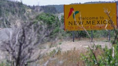 Welcome to New Mexico Stock Footage