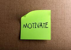 motivate - stock illustration