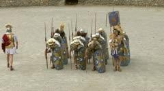 Roman praetorian 01 Stock Footage