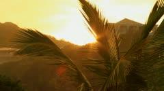 Antigua Sunrise - stock footage