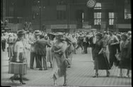 Grand Central Station in the 1940s Stock Footage