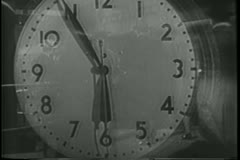 Grand Central Central Station in the 1940s - stock footage