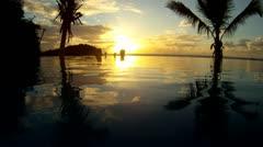 Caribbean Honeymooners Stock Footage
