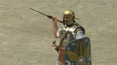 Roman praetorian 05 Stock Footage