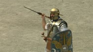 Stock Video Footage of roman praetorian 05