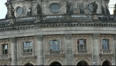 Bode Museum in Berlin Stock Footage