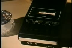 Stock Video Footage of Close-up of cassette player