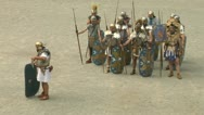 Stock Video Footage of roman praetorian 08