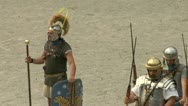 Stock Video Footage of roman praetorian 10