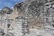 Stock Photo of Ek Balam,Temple , Mayan Ruins, Yucatan, Mexico