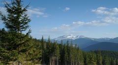 Mountain time-lapse - stock footage