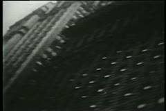 Ticker tape parade, New York City, 1930s Stock Footage