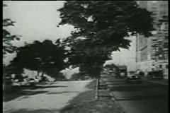 Upper West Side, New York City, 1930s Stock Footage