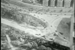 George Washington Bridge, 1930s Stock Footage