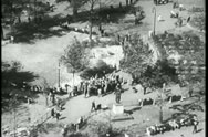 Central Park montage, New York City, 1930s Stock Footage