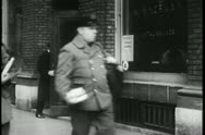 Stock Video Footage of Montage - postal workers