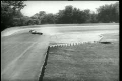 Crash and burn during Indy 500,  Indianapolis Motor Speedway Stock Footage