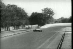 Car crash during Indy 500,  Indianapolis Motor Speedway Stock Footage