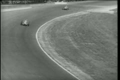 Car crash during  Indy 500, Indianapolis Motor Speedway - stock footage