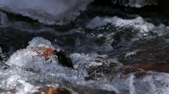 Winter Creek Stock Footage