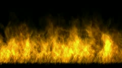 Hot fire,flame burning gas light backdrop,energy heat passion background. Stock Footage