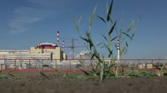 Volgodonsk nuclear power plant Stock Footage