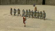 Stock Video Footage of roman praetorian deployment 04