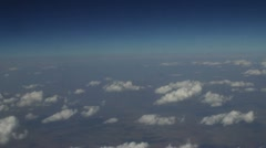 Aerial Clouds 3 - stock footage