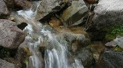 Clear Creek Detail Stock Footage