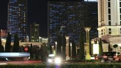 Time-lapse Las Vegas Buildings Stock Footage