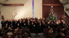 Choir Stock Footage