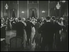 Couples dancing in ballroom Stock Footage