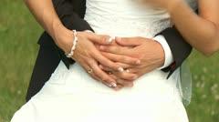 Wedding Couple - stock footage