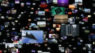 Stock Video Footage of Video clips warp to big bang