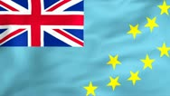 Stock Video Footage of Flag Of Tuvalu