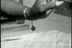 Close-up of woman's hand as she performs a traditional dance Stock Footage