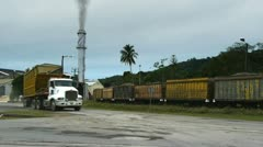 Sugar mill Stock Footage