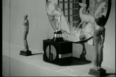 Art deco still life Stock Footage