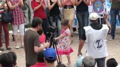 People dancing media working Stock Footage