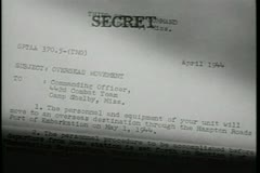 Stock Video Footage of Close-up of confidential letter