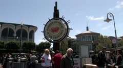 1440 Fishermans Wharf Stock Footage
