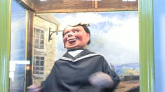 1440 Laughing Sailor - stock footage