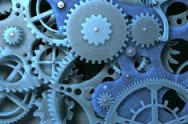 Abstract  clockwork Stock Footage