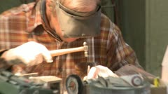 foundry welding - stock footage