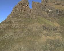 Drakensberg aerial  Stock Footage